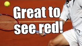 Betfair trading – French Open Tennis – When it's great to see red!