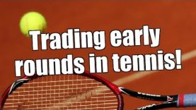 Betfair Trading – Profiting from the early rounds in Tennis